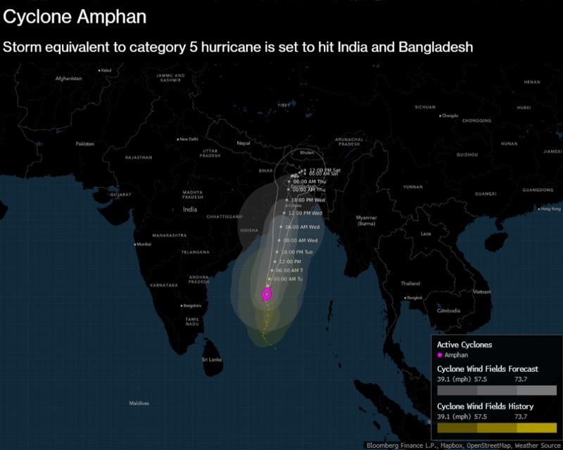 relates to Biggest Storm in 20 Years Spurs South Asia to Evacuate Millions