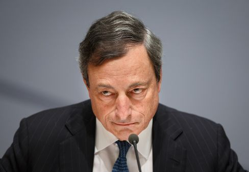 President of the ECB Mario Draghi