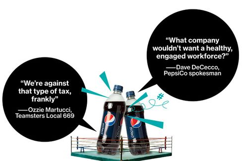 Pepsi Levies a Sin Tax on Its Workers
