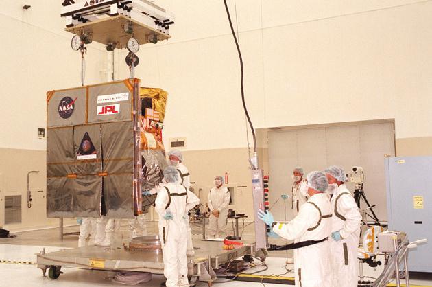 Mars Orbiter disappears (1998)