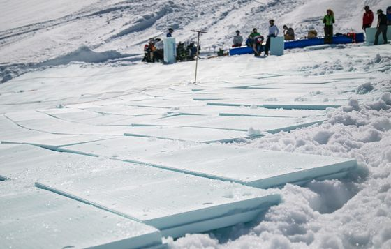 Snow Farming May Be the Key to Saving Europe's Ski Industry