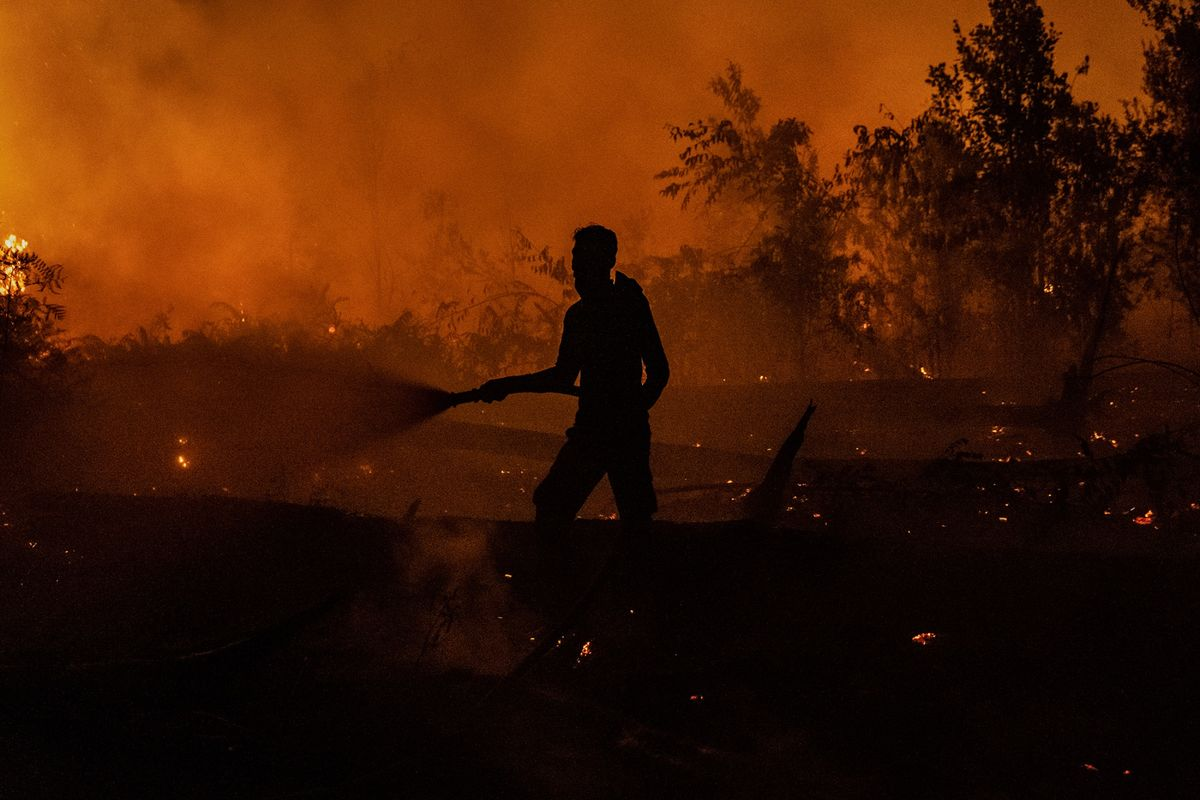 Drought, Wildfires Inflict Double Whammy on Indonesian Crops