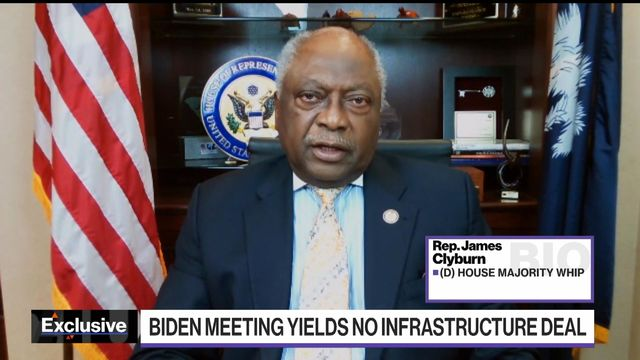 Rep. Clyburn Says Time Is Running Out to Reach Infrastructure Deal
