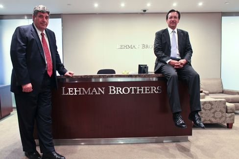 Welcome to Lehman Brothers. We're Open for Business