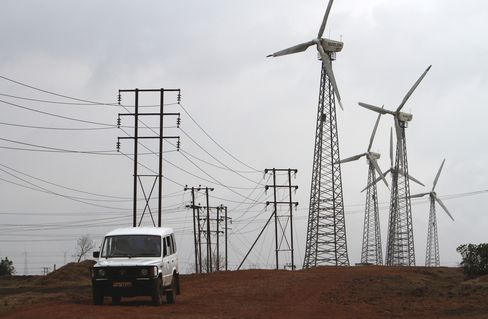 Suzlon Energy's Wind Farm in India