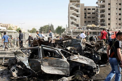 At Least 40 Die as Twin Explosions Rock Syrian Capital