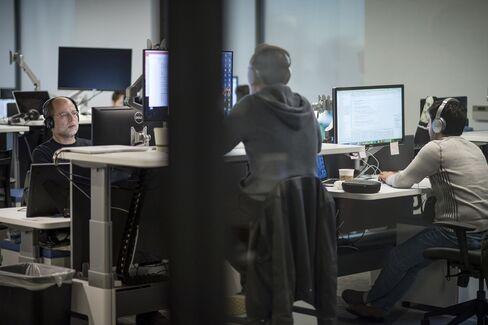 センティエント・テクノロジーズのオフィス内部