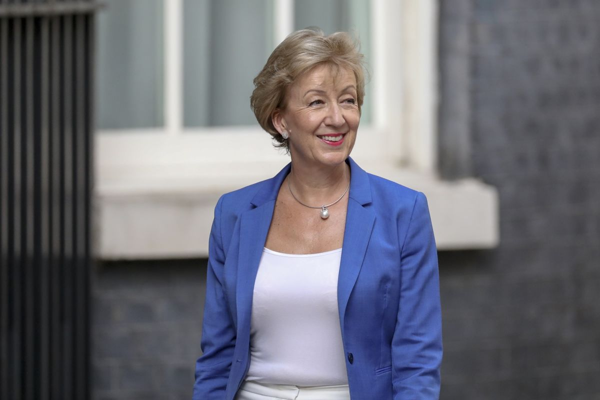 U.K.'s Andrea Leadsom to Meet Businesses to Assess Brexit Preparedness