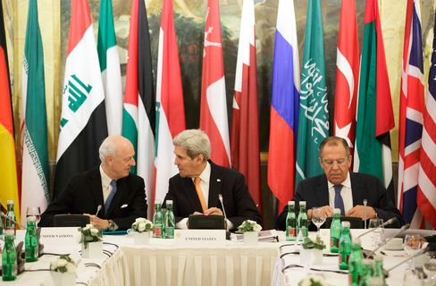 Syria Talks In Vienna