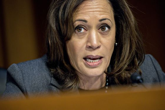 Trump Eyeing Disaster Funds for Wall 'Outrageous,' Harris Says