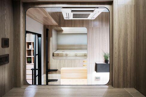 シナジー・ビズの共同住宅のベッドスペース