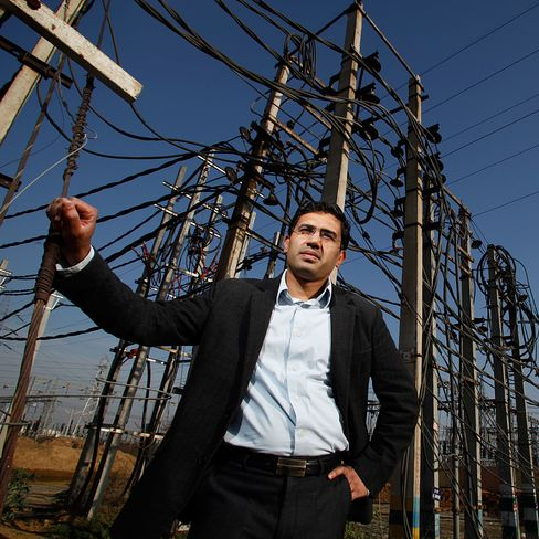 Vibhav Nuwal, founder of REConnect Energy Solution