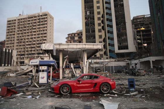 Munich Re Sees Beirut Blast Losses of at Least 100 Million Euros