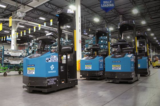 Robots Driving Forklifts Score Venture Capital, Create Jobs
