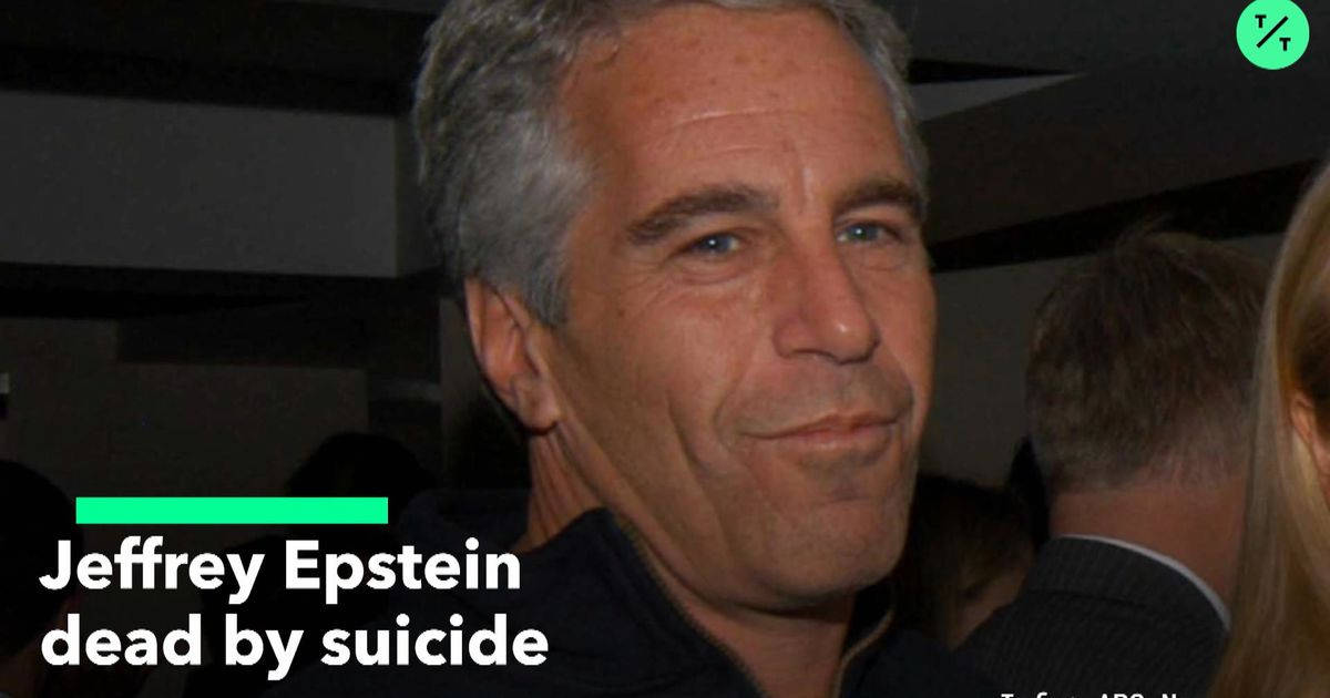 Jeffrey Epstein Dead By Suicide - Bloomberg