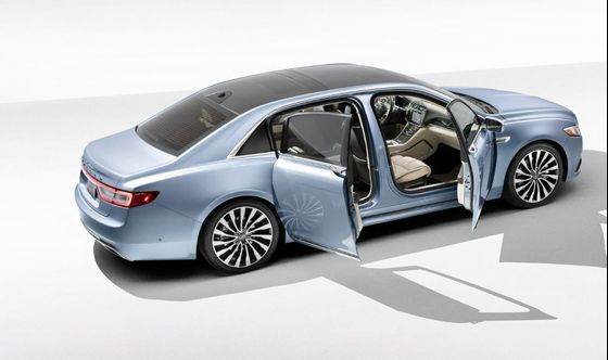 Lincoln Revives 'Suicide-Door' Continental in 1960s Nostalgia