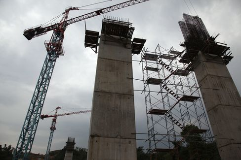 Indonesia Infrastructure Stocks to Jump on Spending
