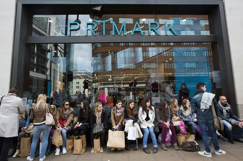 Primark Store On Oxford Street In Central London