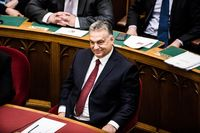 Hungary's Prime Minister Victor Orban Attends The Opening Session Of Parliament