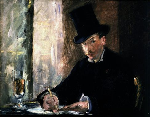A painting by Édouard Manet that was stolen from the Isabella Stewart Gardner Museum.