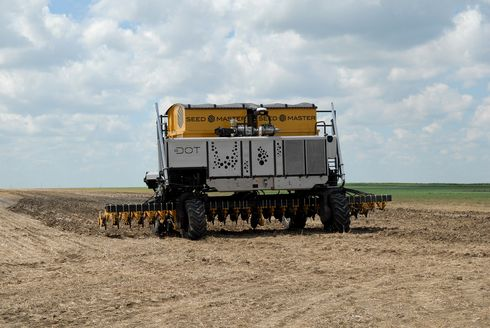 The Dot power platform with the SeedMaster Ultra DSR