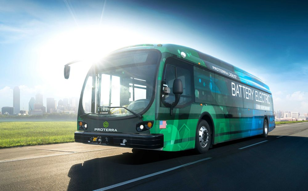 Transit Startup Proterra Plans Electric Bus With 350-Mile Range