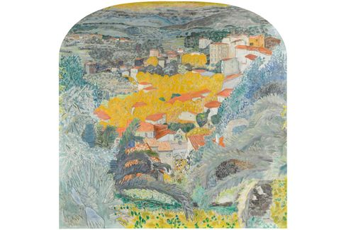 Pierre Bonnard, View from Le Cannet, 1927.