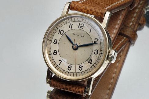 The bullseye dial on this Longines is just perfect.