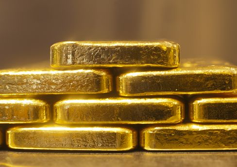 Gold Slumps to Eight-Week Low