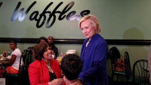 Hillary Clinton Campaigns In South Carolina