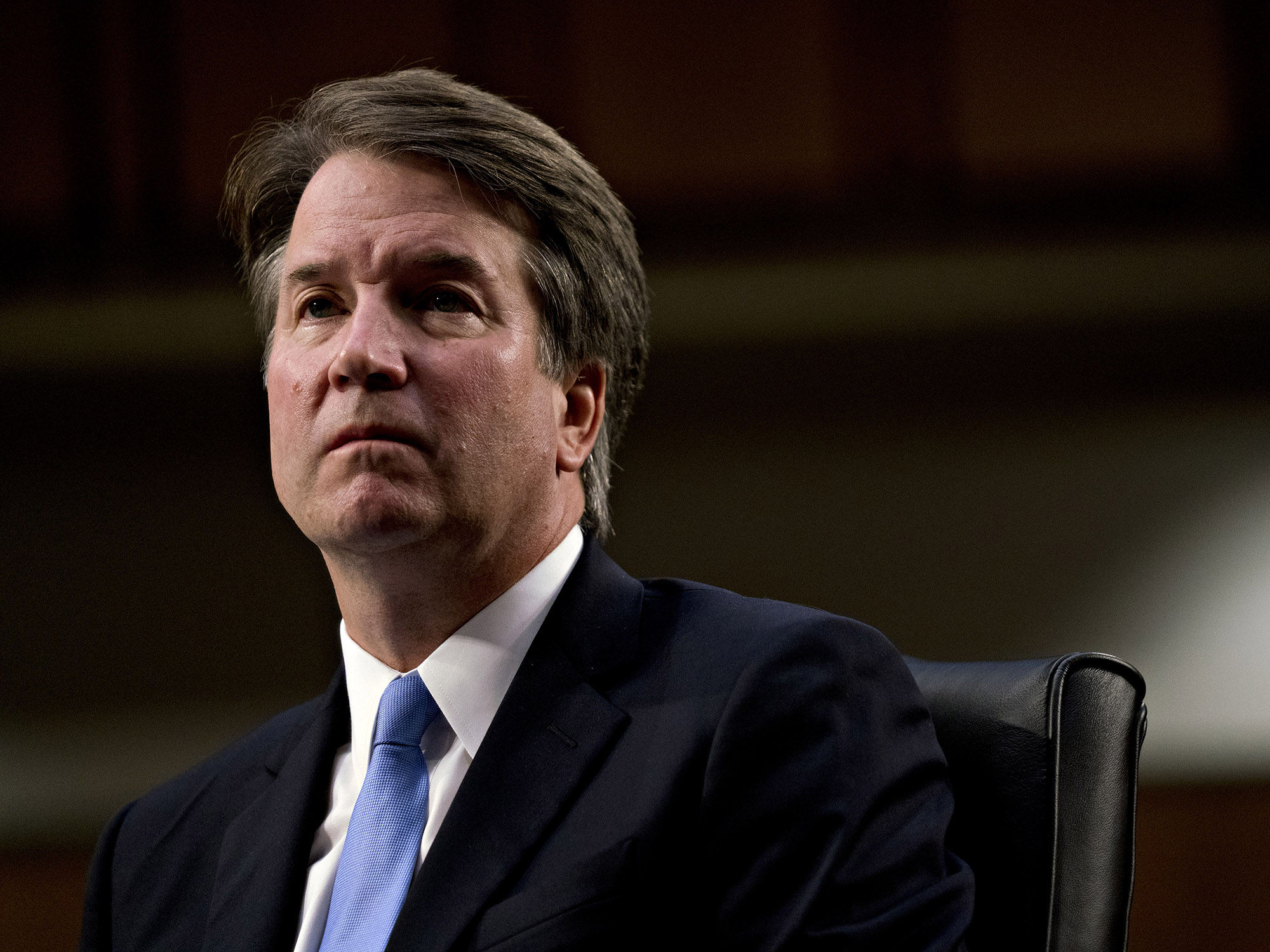 bloomberg.com - Chris Strohm - White House Hasn't Asked FBI to Vet Kavanaugh Allegations, Sources Say