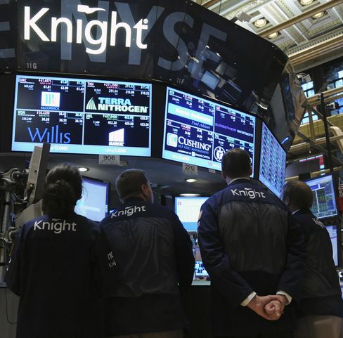 Knight Seen Getting Acquisition Bids This Week