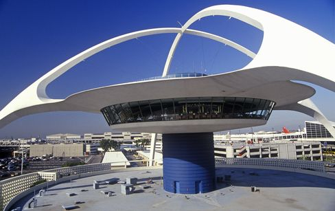 LAX theme restaurant at the Los Angeles International Airport, Los Angeles, California