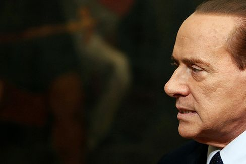 In Italy, Berlusconi's Back. His Business Isn't