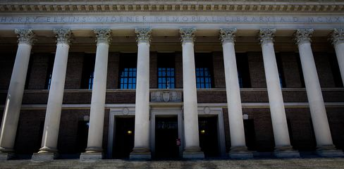 Harvard's Harry Elkins Widener Memorial Library