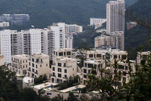香港の住宅群