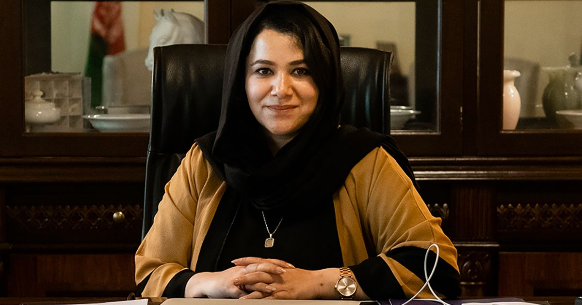 Kabul's Iron Woman Champions Afghanistan's Mineral Resources