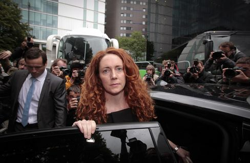 Former Head of News Corp.'s British Unit Rebekah Brooks