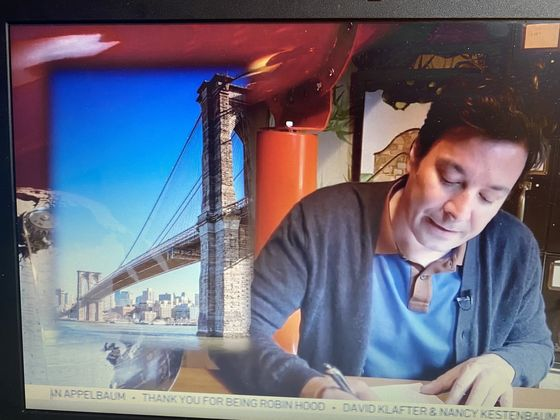 Steve Cohen, Jeff Bezos Achieve Scroll Fame at Robin Hood Telethon