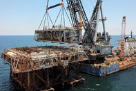 relates to How an Offshore Oil Rig Becomes an Artificial Reef