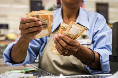 South African Retail And Rand As Economy Teeters On Edge Of Credit-Ratings Downgrade