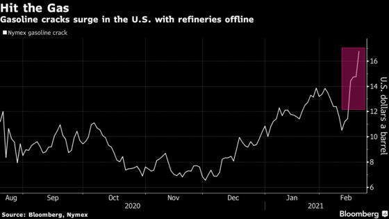 Crude Slides With Texas Oil Wells Seen Restarting Output