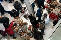 Shoppers At Macy's Herald Square For Pre-Black Friday Sales