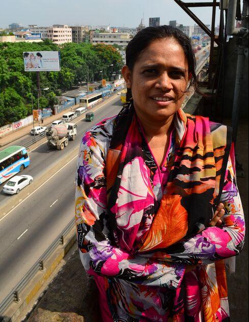 Activist Nazma Akhter