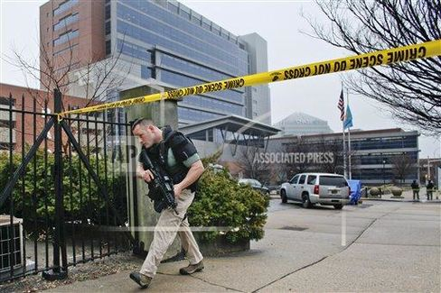Three Die in Delaware Courthouse Shootings Over Custody Case