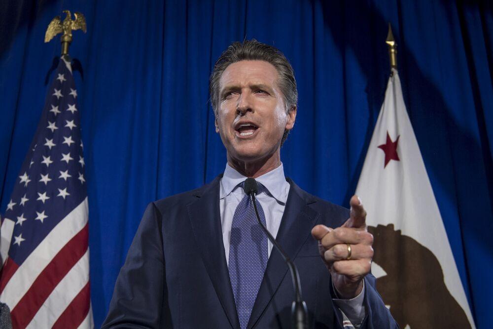 California Gov  Newsom Blasts PG&E Hedge Fund Picks for Board
