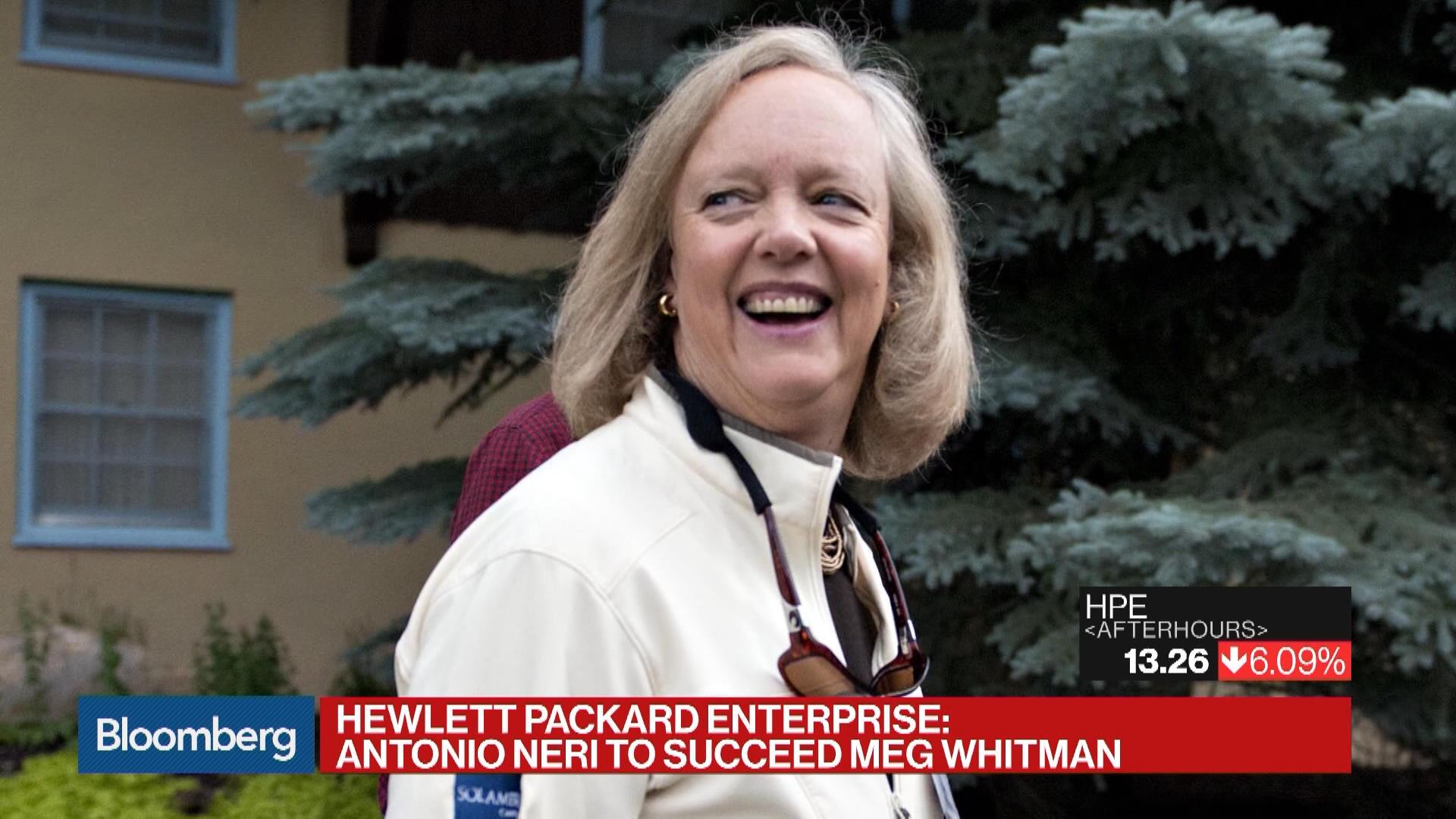 meg whitman management style