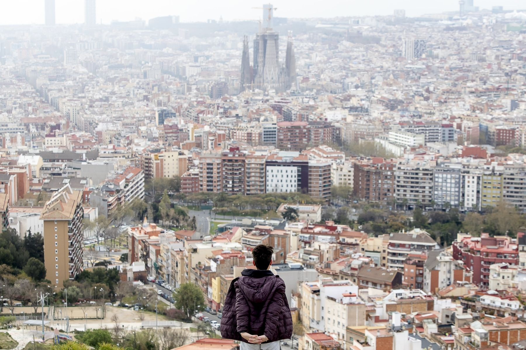 More than a quarter of Barcelona's children were unable to participate in online schooling during the pandemic because of a lack of devices or internet connections.