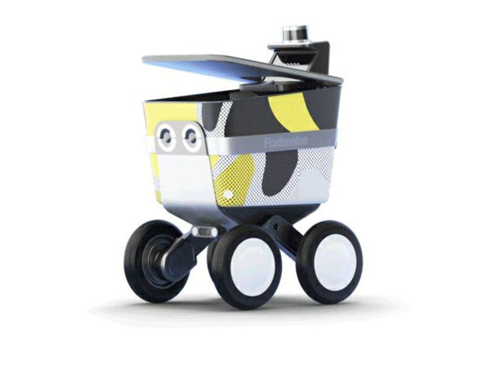 Postmates Introduces a Robot to Roam Sidewalks Delivering Food