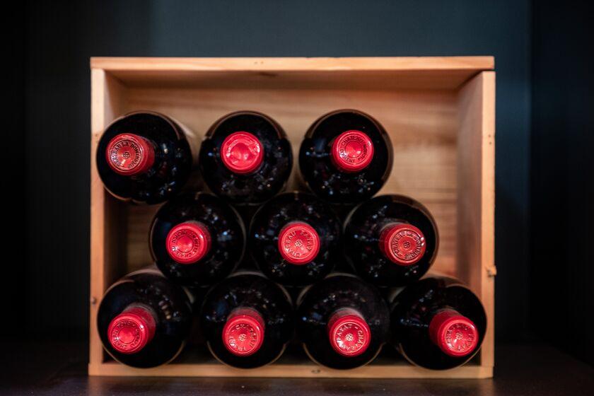 Bordeaux Region Grape Harvest And Wine Production as U.S Considers Import Tariffs